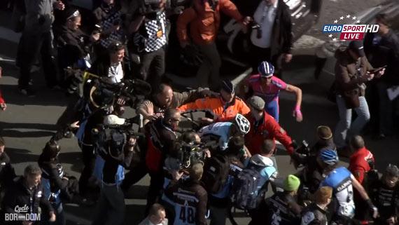 Cycleboredom | Screencap Recap: Ronde van Vlaanderen - Hondo 'Roid Rage