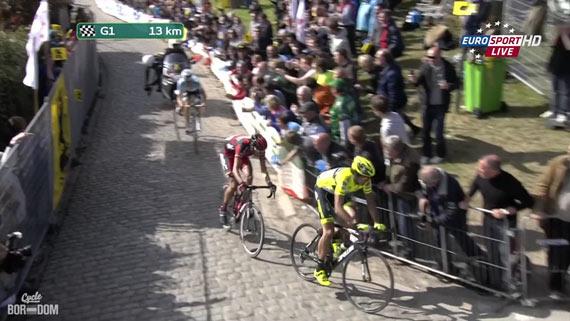 Cycleboredom | Screencap Recap: Ronde van Vlaanderen - Actual Gappage