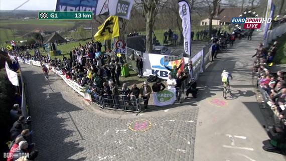 Cycleboredom | Screencap Recap: Ronde van Vlaanderen - Gap, Sagan, Gap