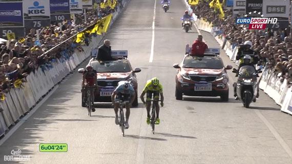 Cycleboredom | Screencap Recap: Ronde van Vlaanderen - Sprinting
