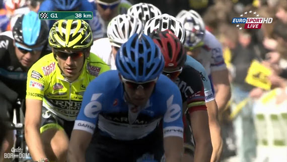 Cycleboredom | Screencap Recap: Ronde van Vlaanderen - Don't Look Back