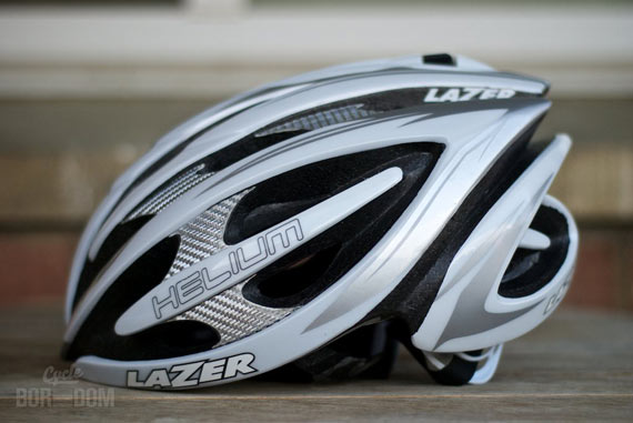Cycleboredom | What I'm Riding: Lazer Helium Helmet - Profile Shot
