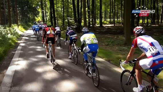 Cycleboredom | Screencap Recap: #Limburg2012 - Magic Forest