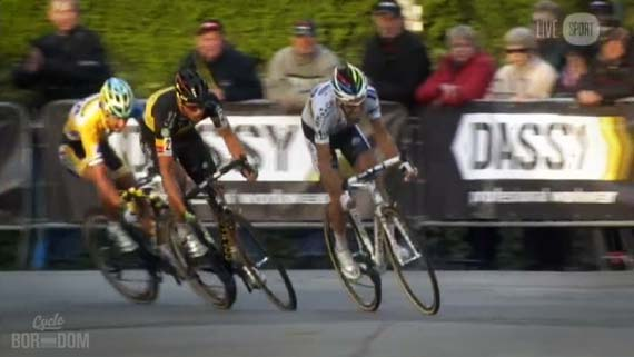 Cycleboredom | Screencap Recap: 2012 Cyclocross Bosduin Kalmthout - Sprint