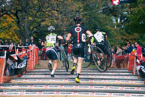 Cycleboredom | The Not a Race Recap of DCCX - Stairs