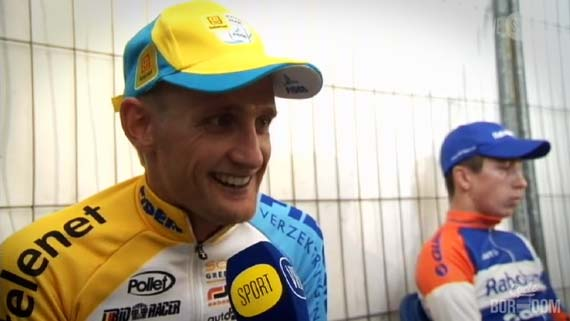 Cycleboredom | Screencap Recap: 2012 Cyclocross Bosduin Kalmthout - Wellens Laugh