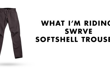 What I'm Riding: swrve Softshell Trousers - Main Image