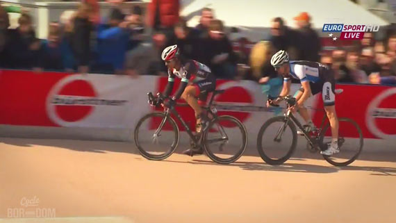 Screencap Recap: Paris-Roubaix 2013 - A Fist Full Of Brakes