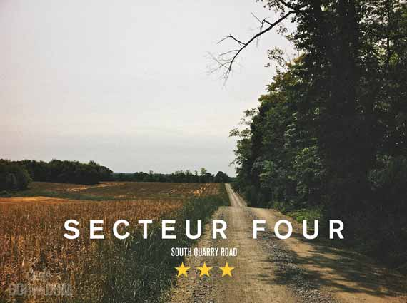The Gravel Grind/Chip-Seal Ordeal: A Photo Essay Of Incredible Length And Breadth - Secteur Four
