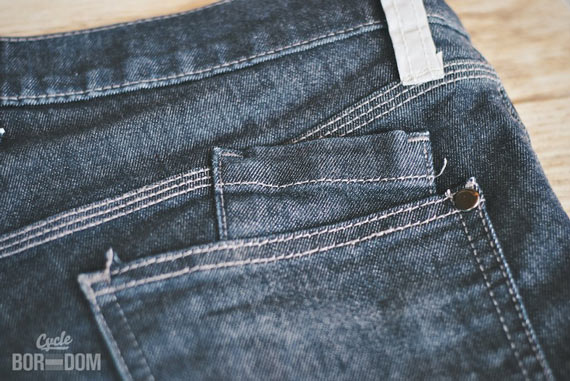 What I'm Riding: swrve Cordura Skinny Fit Jeans - Pockets