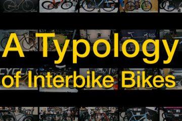 Interboredom 2014: A Typology of Interbike Bikes - Day 1