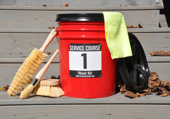Released: Service Course Wash Kits