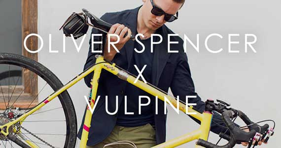 Released: Oliver Spencer x Vulpine Cycling Blazer