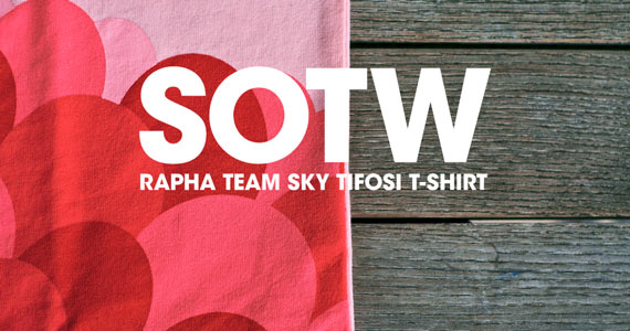 Shirt of the Week: Rapha Team Sky Tifosi T-Shirt