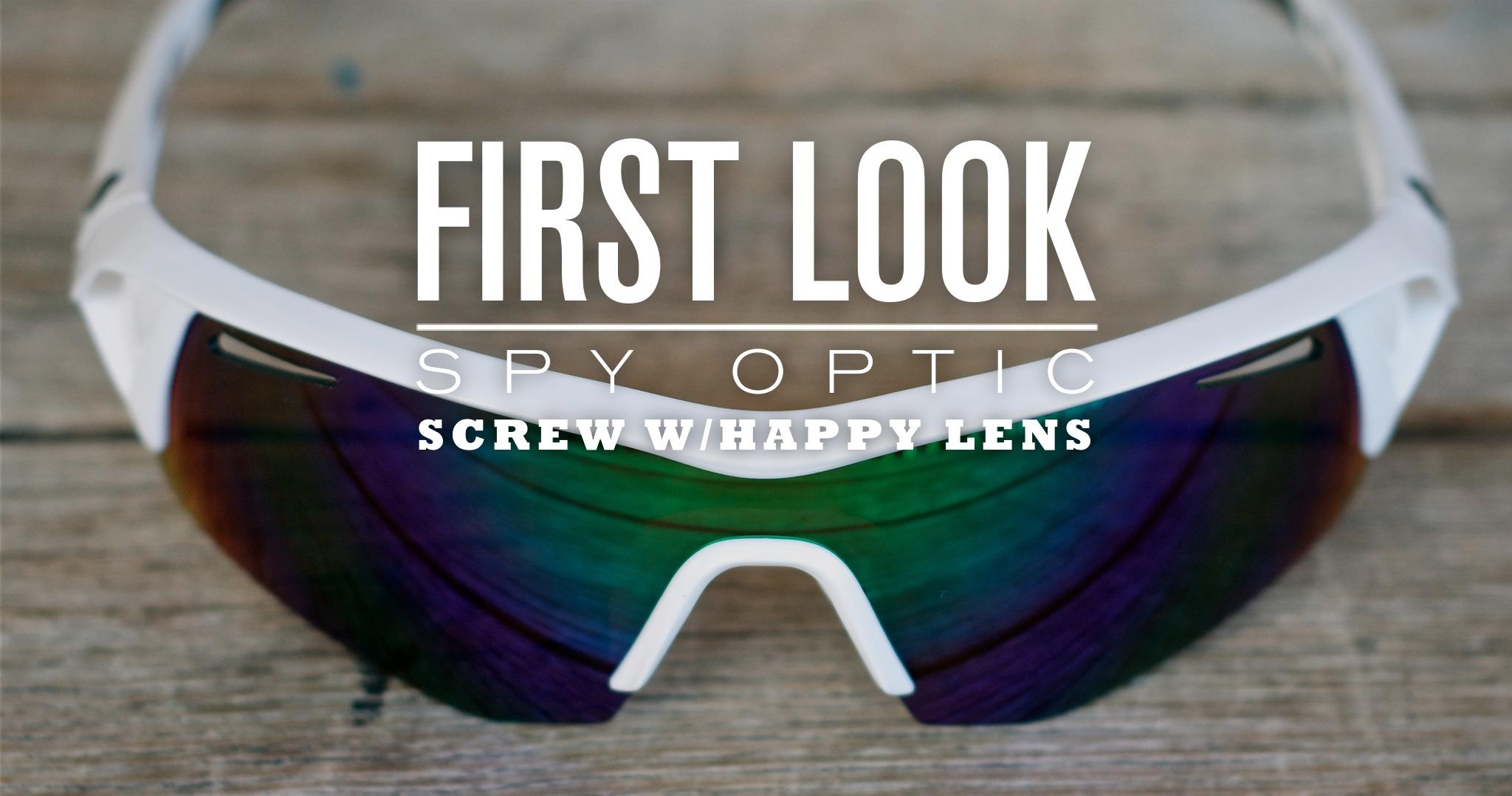 First Look: Spy Optic Screw w/ Happy Lens