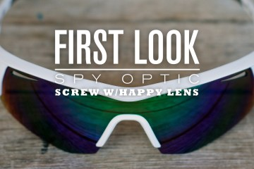 First Look: Spy Optic Screw w/ Happy Lens