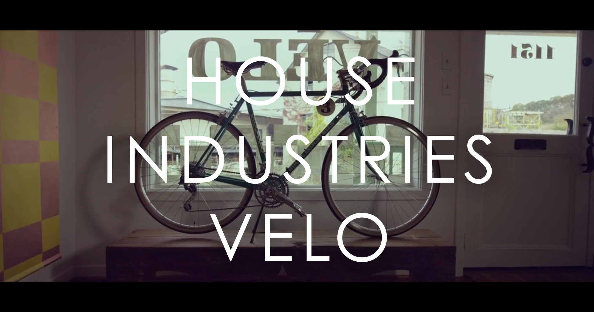 House Industries: Velo—A Film Inspired by a Typeface Inspired by Cycling