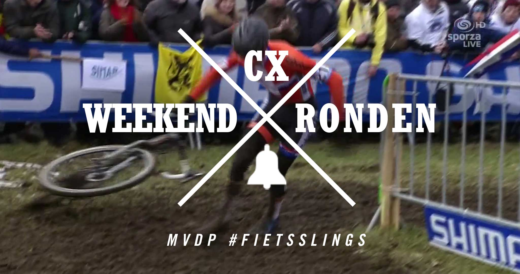 Weekend CX Ronden: All The MVDP Fietsslings at #CXWorlds Tabor