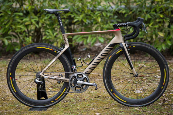 Bike of the Week: Alexander Kristoff's Canyon Aeroroad CF SLX - Photo: Caley Fretz | VeloNews.com