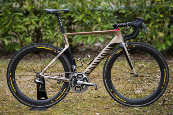 Bike of the Week: Alexander Kristoff's Canyon Aeroroad CF SLX - Photo: Caley Fretz | VeloNews.com