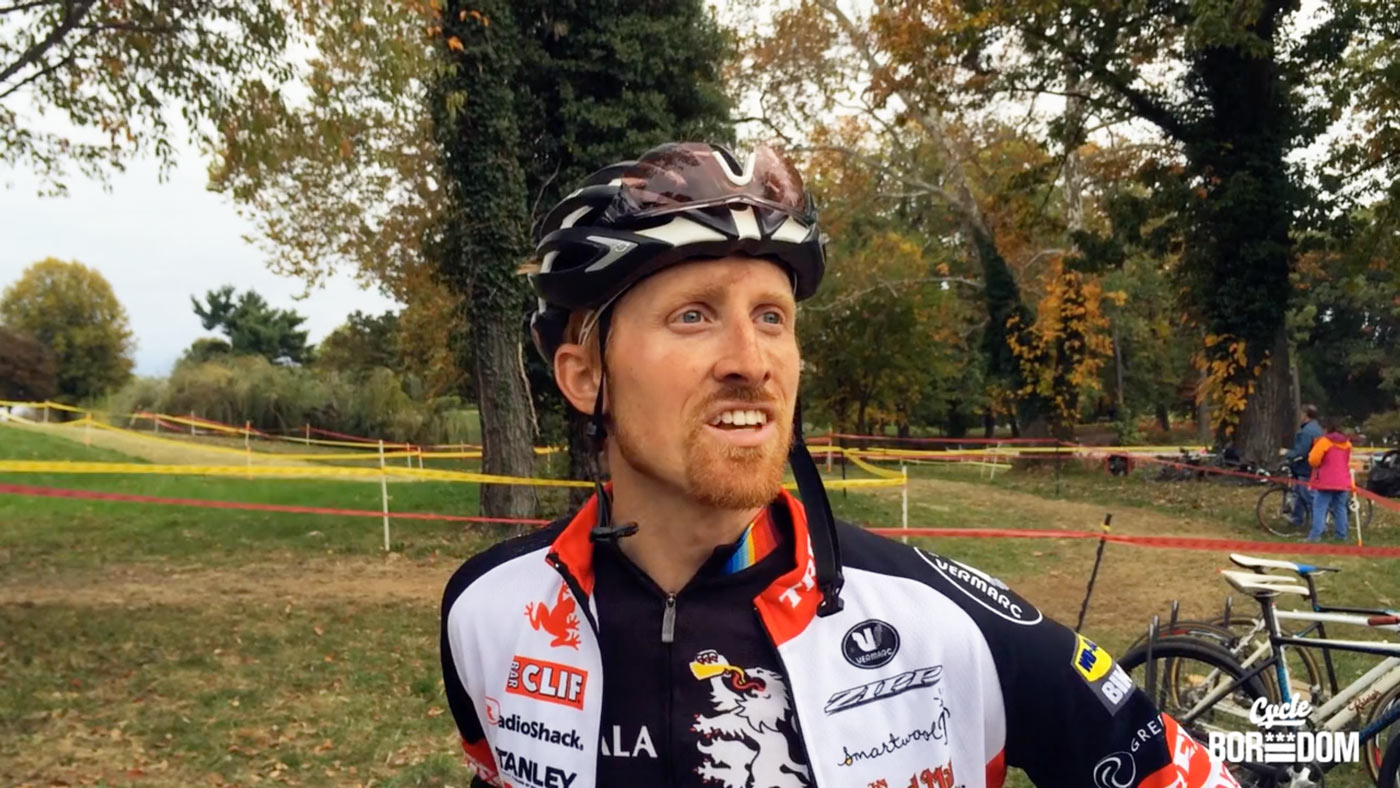 Why Cyclocross: Craig T Etheridge