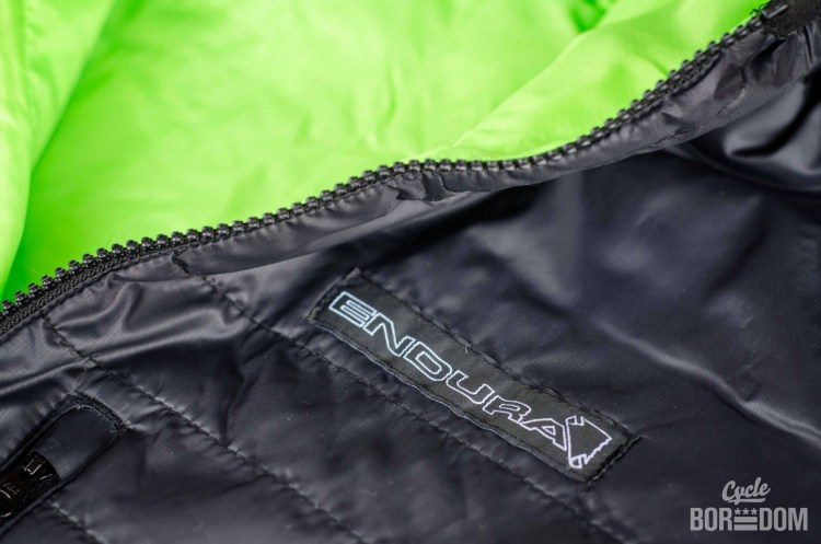 First Look: Endura Urban Flipjak Reversible Jacket - Logo Detail