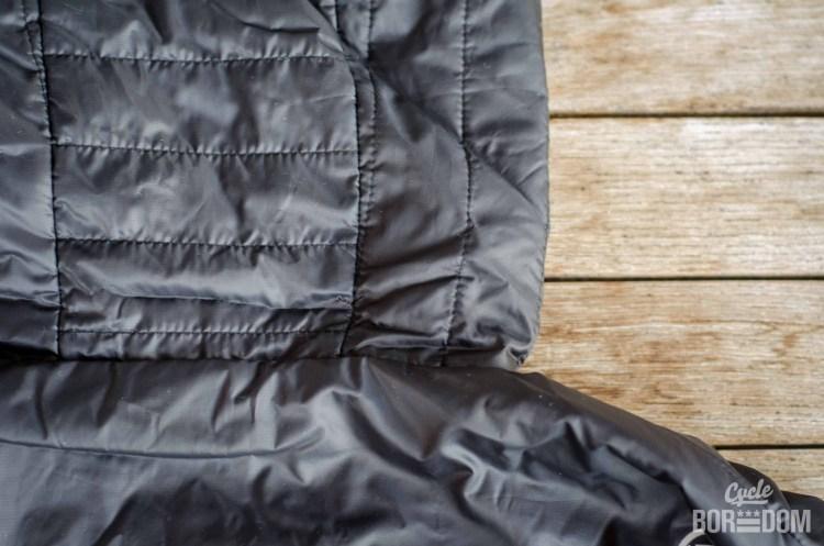 First Look: Endura Urban Flipjak Reversible Jacket - Back of Hood