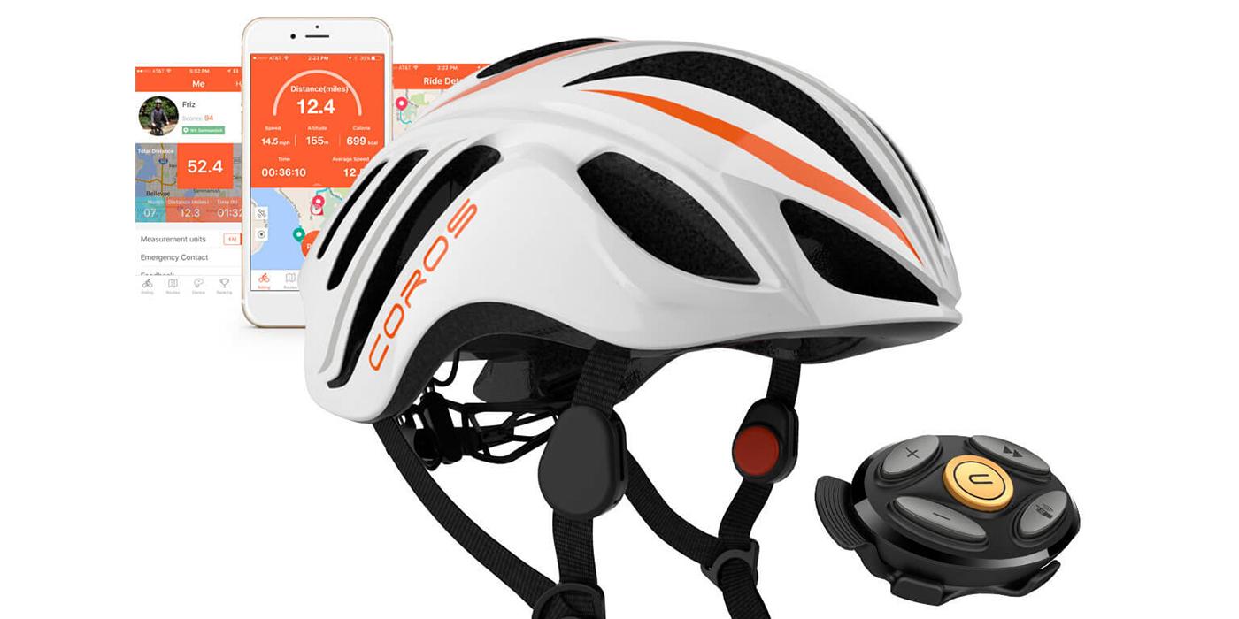 Released: Coros LINX Smart Helmet