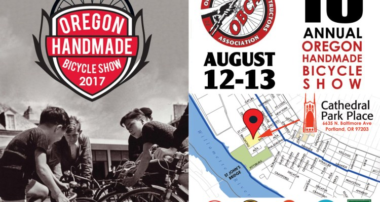 The 2017 Oregon Handmade Bicycle Show is This Weekend!
