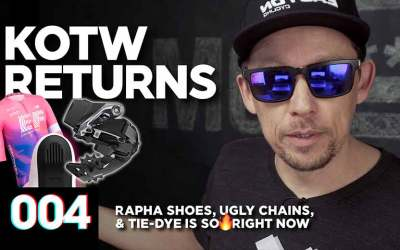 Ugly Chains, New Rapha Shoes, & Tie-Dye Is So 🔥 Right Now :: KOTW - 004