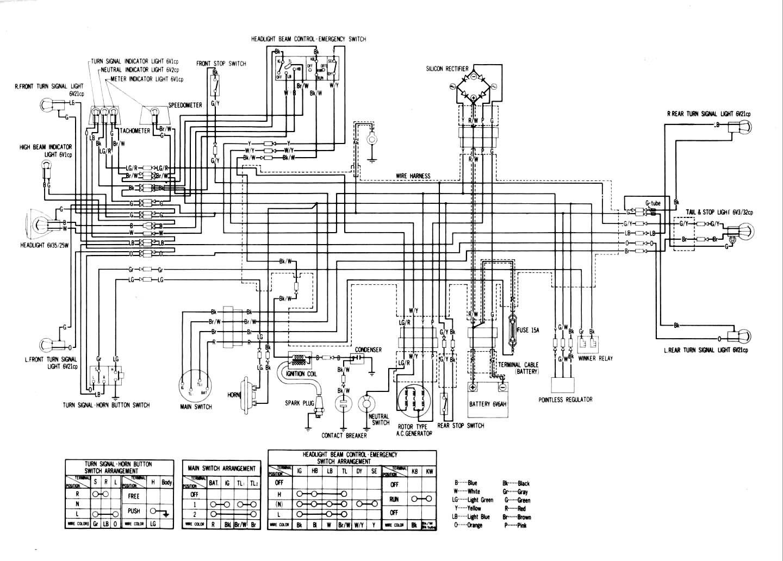 Honda C70 Wiring Schematic Diagrams 2001 Elite Scooter Diagram Diy Enthusiasts Gbo Schematics 1983 Passport