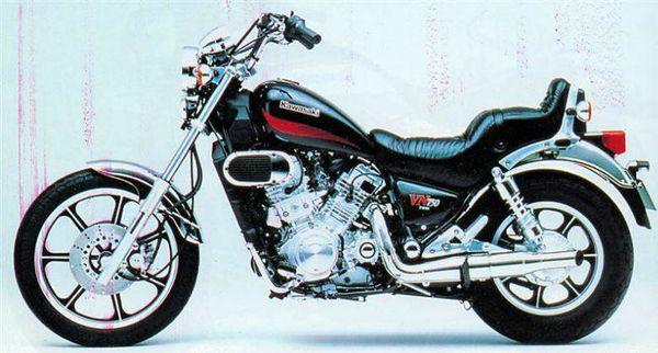 Kawasaki Vn750a Vulcan 750 History