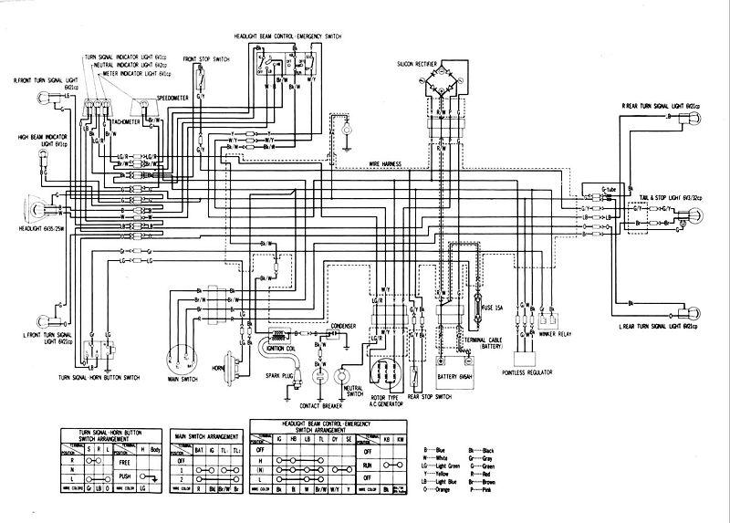 800px Honda XL175 Wiring Diagrams 2?resize\\\\\\\\\\\\\\\=665%2C476 honda 250x atv wiring diagrams wiring diagrams honda 90 atc wiring at crackthecode.co