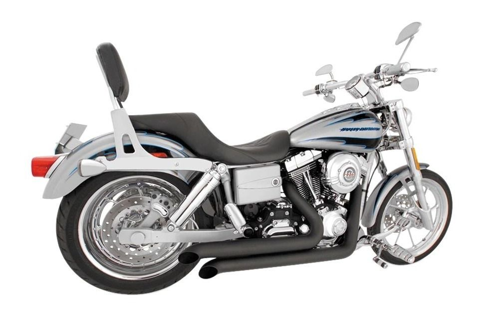 freedom performance declaration turn out exhaust for harley dyna 2006 2017
