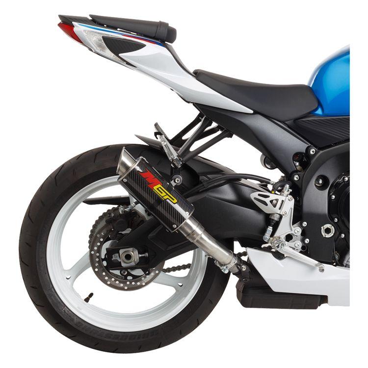hotbodies racing mgp slip on exhaust suzuki gsxr 600 gsxr 750 2011 2021