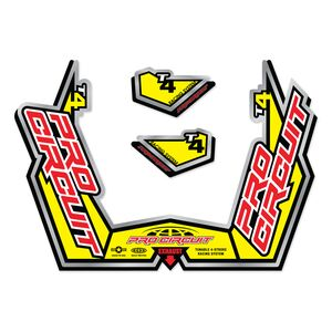 fmf replacement exhaust decals cycle gear