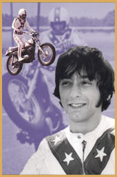 Stunt Rider and Motorcycle Jumper Bob Pleso