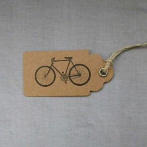 Bicycle Gift Tags CycleMiles