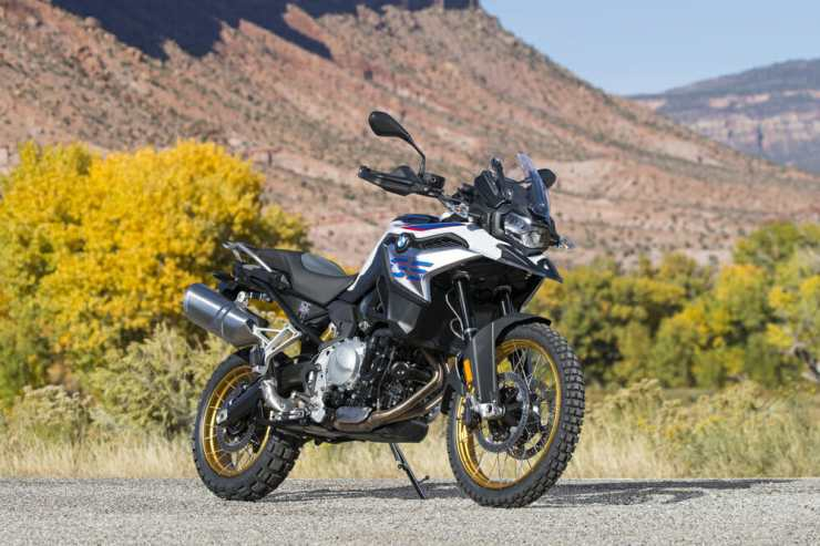 All new bodywork gives the 850 a look not too dissimilar to the R 1250 GS.