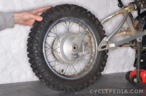 Yamaha TTR90 Motorcycle Online Service Manual  Cyclepedia