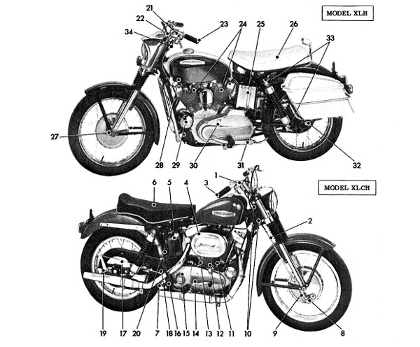 Hd Images Of Vintage Motorcycles
