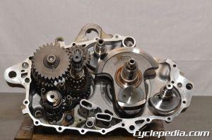 Yamaha Sport Quad Dry Sump Oil Change  Cyclepedia