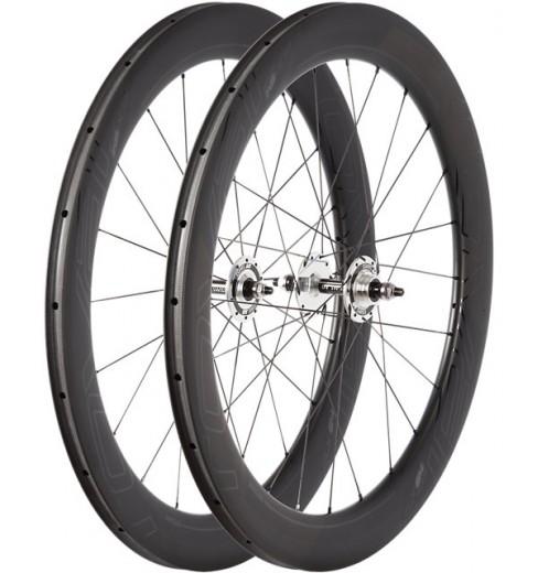 roval paire de roues velo route clx 64 track pour boyau 700c