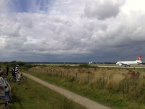Family friendly family cycle routes in Greater Manchester - Manchester Airport
