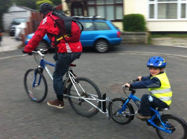 Follow Me Tandem towbar bike for kids