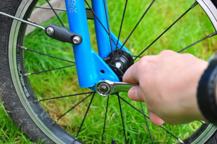 Check everything is tight - cyclesprog