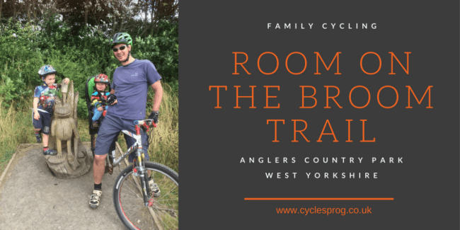 Room on the Broom Trail at Anglers Country Park, Wakefield, West Yorkshire
