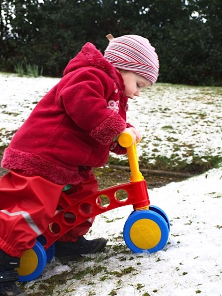Can a toddler bike be used outside? This review finds out