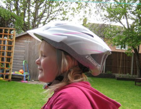 Limar Kids Cycle Helmet for girls who ride bikes