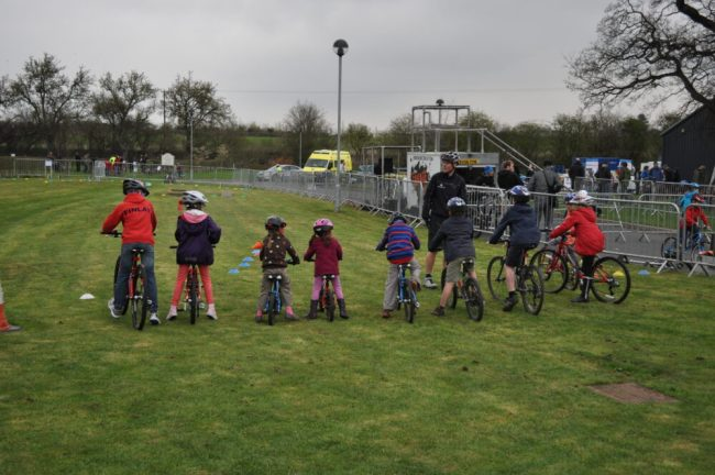 Test riding Islabikes at an Islabikes on Tour event